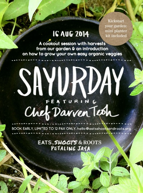 Sayurday Featuring Chef Darren Teoh