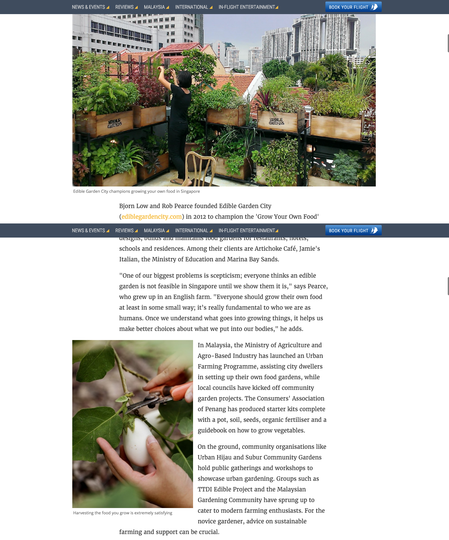 Going Places - Gardening Projects Are Bringing Out Gre...- Malaysia Airlines In-Flight Magazine2