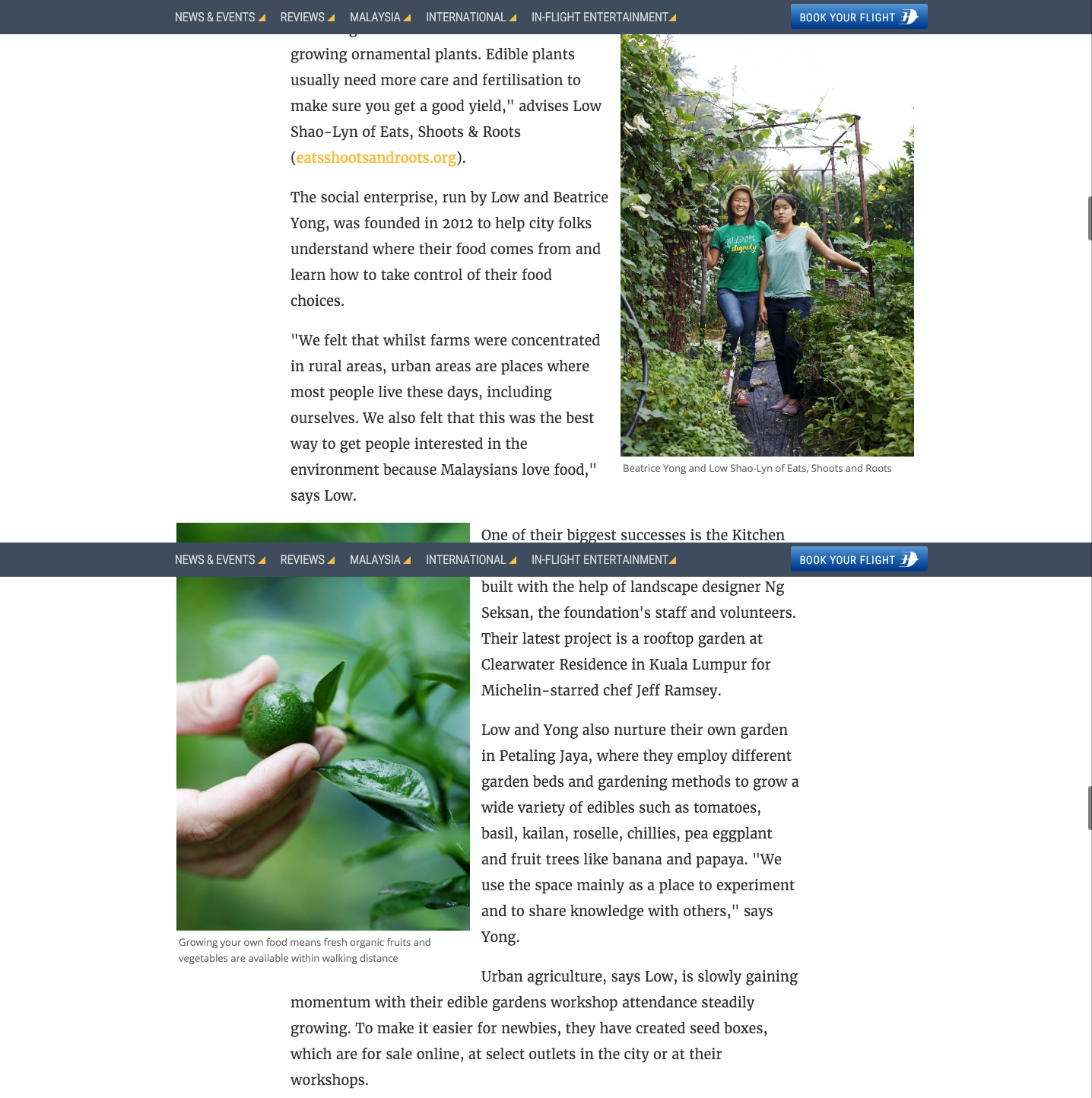 Going Places - Gardening Projects Are Bringing Out Gre...- Malaysia Airlines In-Flight Magazine3