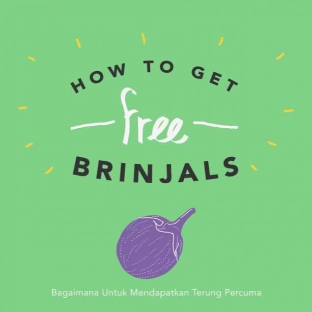 How To Get Free... Brinjals! Thinking of throwing a party? Don't forget to 'brinjal' your friends to show them what you've got growing in your backyard! Watch this video to find out more… LINK IN BIO! Video URL: https://youtu.be/Vr3Ob6TYZuo ABOUT SAYUR IN THE CITY Over the past year, we've been working with @mythinkcity to explore how we can the city by establishing more edible #gardens. As a result of that exploration, we want to highlight and celebrate the vegetables that are so easy to grow in the tropical lowlands of Kuala Lumpur. Produce that grow well in the highlands are different from produce that grow well in the lowlands where we are, hence Sayur In The City was born.