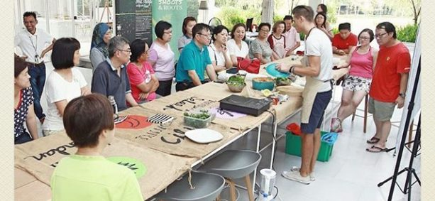 Great turnout for our Sayurday! Garden To Table workshop at Leisure Farm, Johor.
