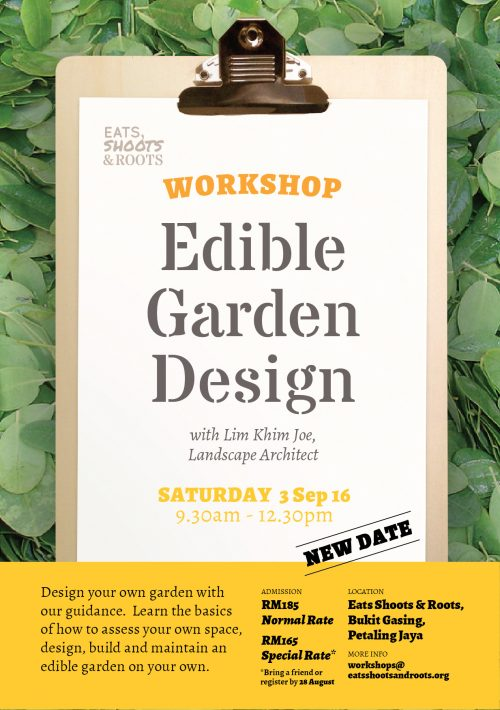 Poster_160811_Workshop_EdibleGardenDesign